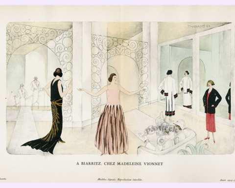 Bias-cut đã làm thay đổi silhouette của thời trang thập niên 20 - 30 như thế nào?