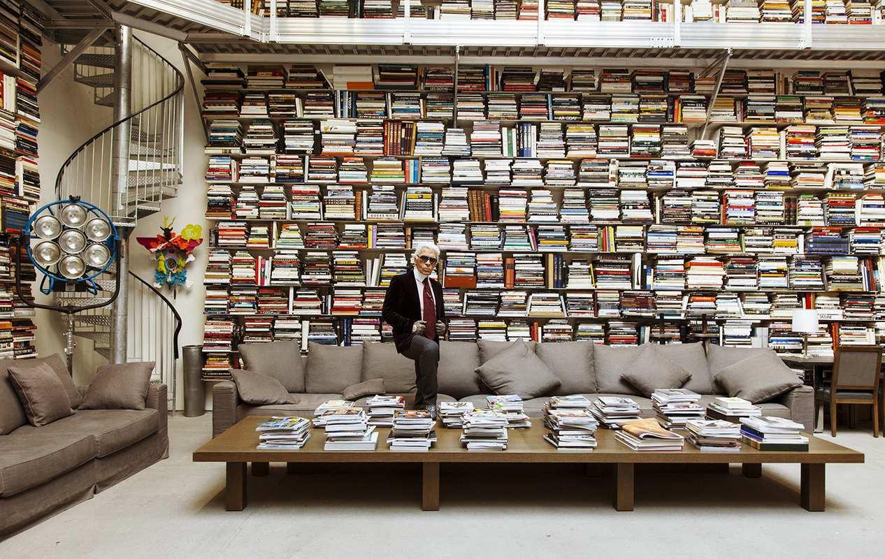 Thư viện của Karl Lagerfeld