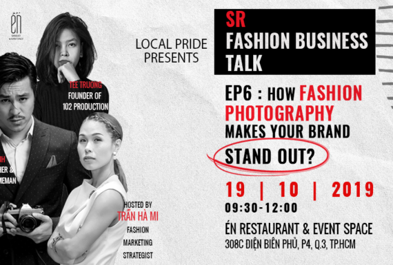 SR Fashion Business Talk Ep6: How fashion photography makes your brand stand out