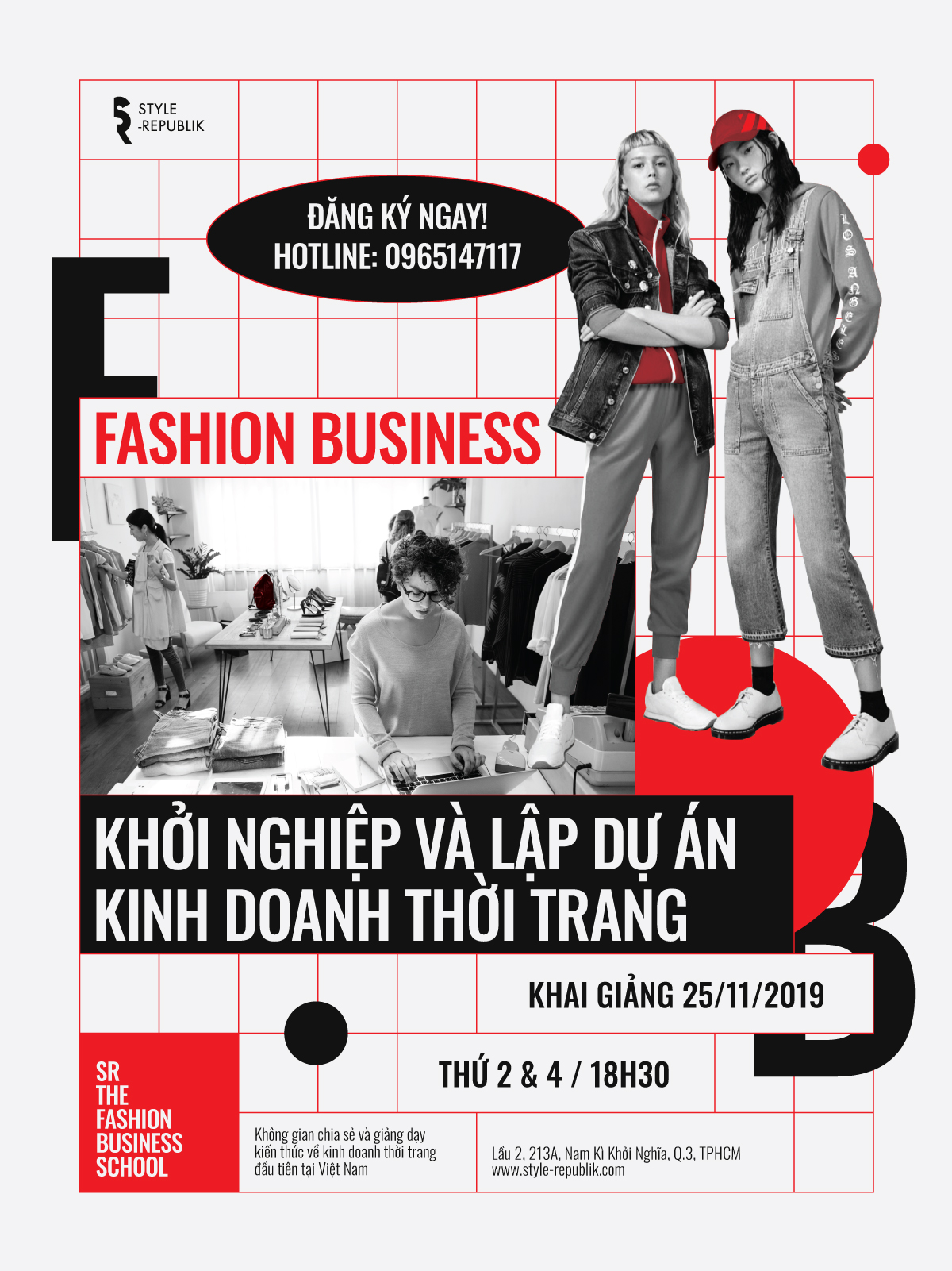 Khoá học kinh doanh thời trang - Fashion Business Course