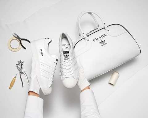 Adidas lần đầu hợp tác với Prada