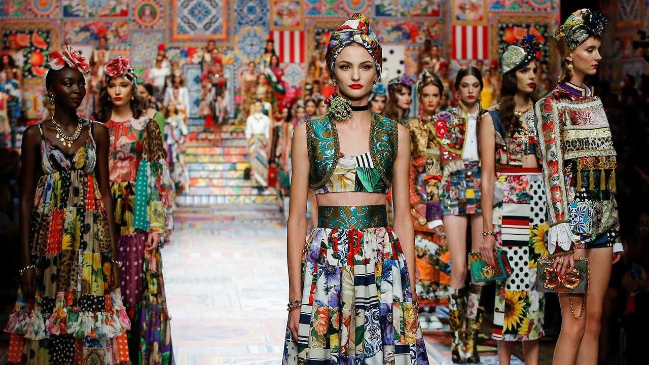 Dolce & Gabbana Spring 2021: Tôn vinh nghệ thuật Patchwork -  Style-Republik.com