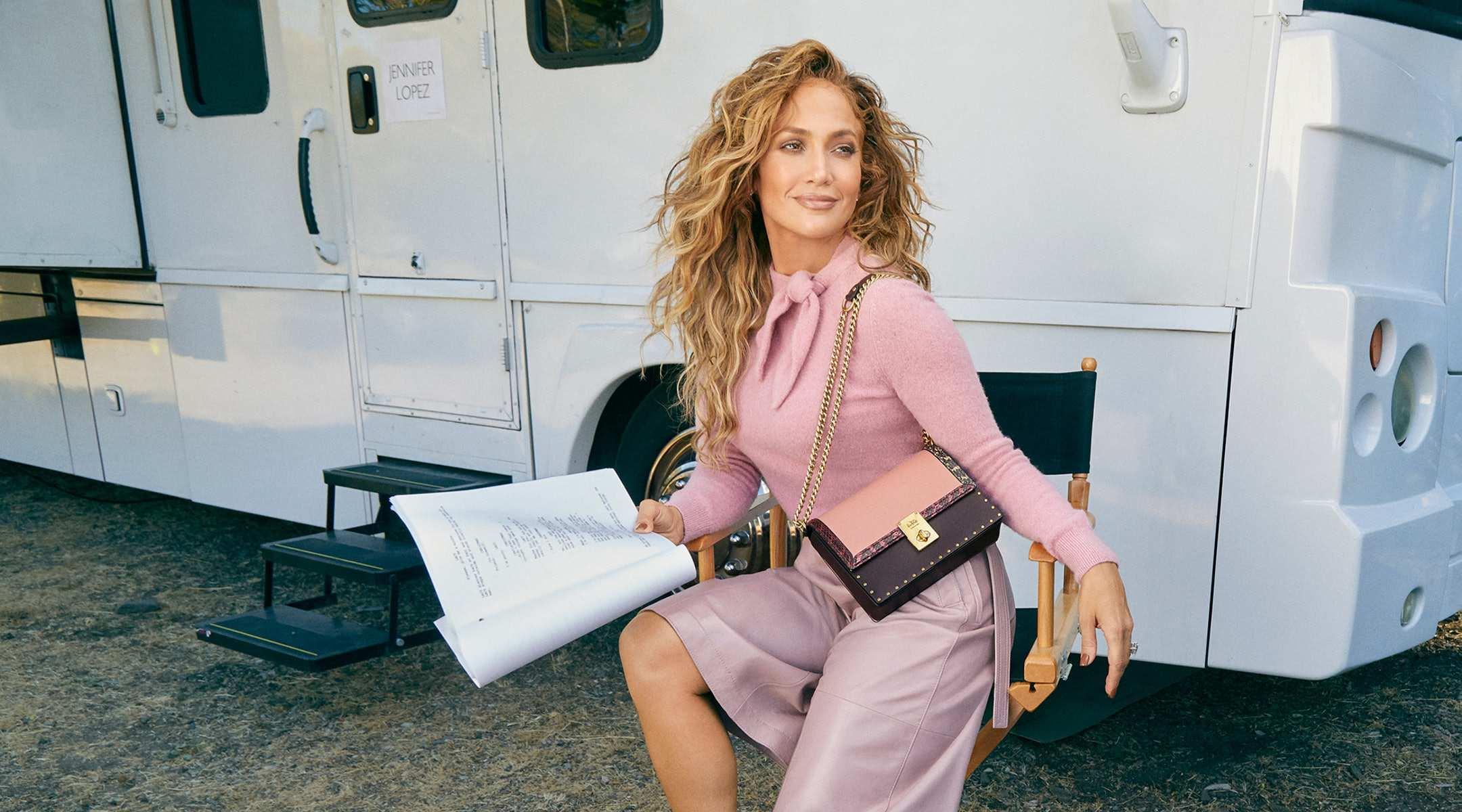 COACH X Jennifer Lopez Hutton